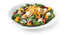 Swiss Chalet chicken spinach